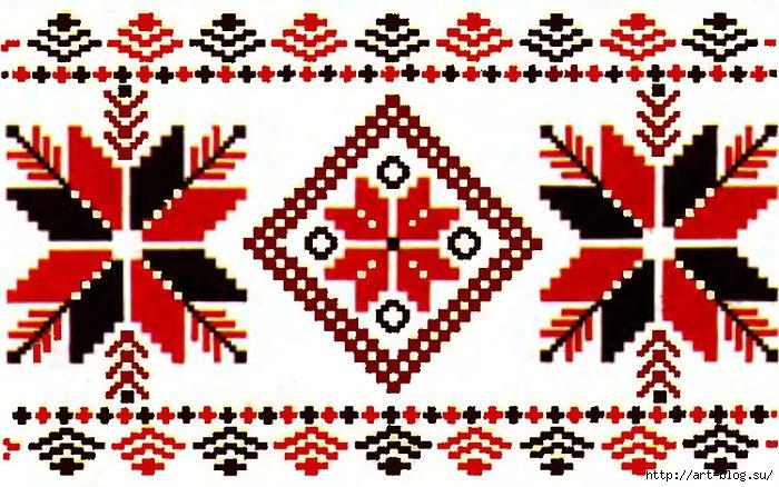 Для русской вышивки характерны
