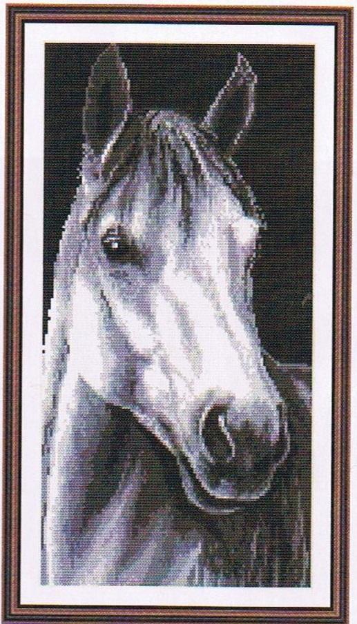 Схема для вышивки Лошадь