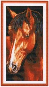 схема для вышивания Лошадь