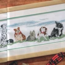 схема вышивки собачий вальс