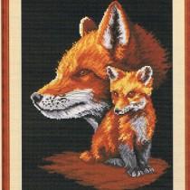схема вышивки умные охотники