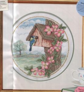 схема для вышивки синичкин дом