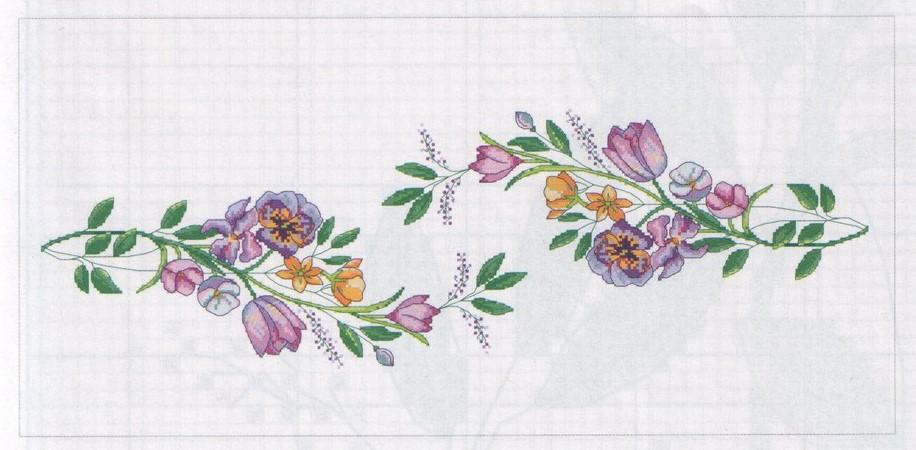Схема вышивки Орнамент для