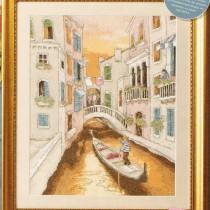 схема вышивки прекрасная венеция