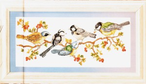схема вышивки птичий пир