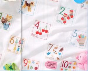 схема вышивки детское одеяло
