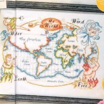 схема вышивки карта мира3