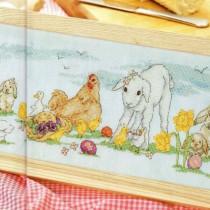схема вышивки пасхальный пикник