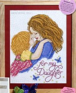 схема вышивки мамина радость