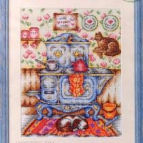схема вышивки на кухне