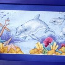 схема вышивки подводный мир
