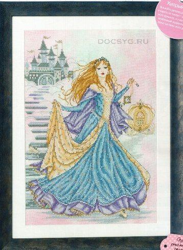 схема вышивки принцесса на балу