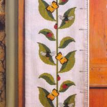 схема вышивки ростомер подсолнух