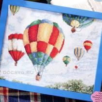 схема вышивки воздушный парад
