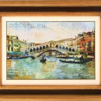 схема вышивки город венеция