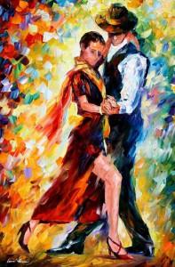 схема вышивки красивый танец