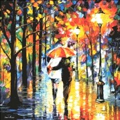 схемы вышивки прогулка под зонтом