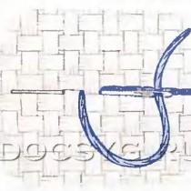 техника вышивки стежками дробный крест, рetite-stitch, рetite-point.4