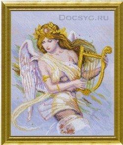 схема вышивки богиня музыки