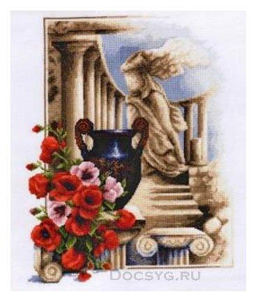 схема вышивки древнегреческая богиня ника