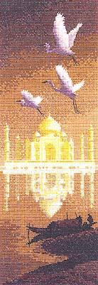 схема вышивки мечеть тадж махал
