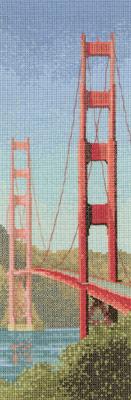 схема вышивки мост золотые ворота