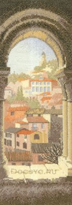 схема вышивки окнов испанию