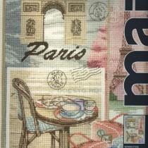 схема вышивки письмо из парижа