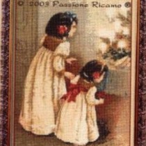 схема вышивки святая ночь