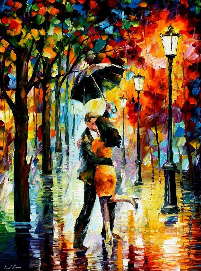 схема вышивки танец под дождем