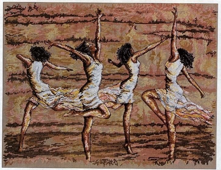 Схема вышивки Танец Страсти