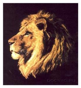 схема вышивки царь зверей