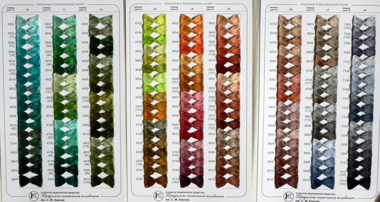 Схема вышивки нитками пнк