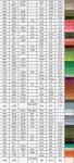 таблица перевода мулине bestex