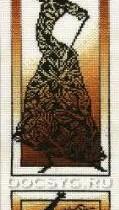 схема вышивки Знойный танец