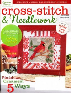 Журнал Cross-Stitch and Needlework