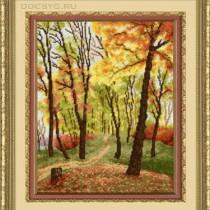 схема вышивки Осенний парк