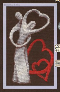 схема вышивки Любовь