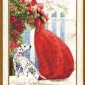 схема вышивки Аромат роз