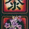 схема вышивки Расцвет