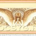 схема вышивки ангел