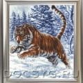 схема вышивки Прыжок тигра