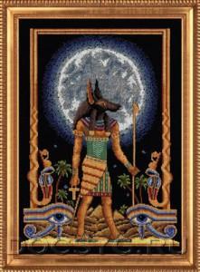 схема вышивки Судья богов