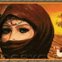 схема вышивки Египтянка