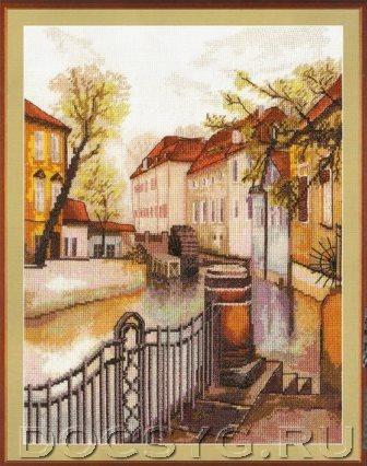 Схема вышивки Старая Прага