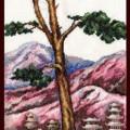 схема вышивки Тибетская долина