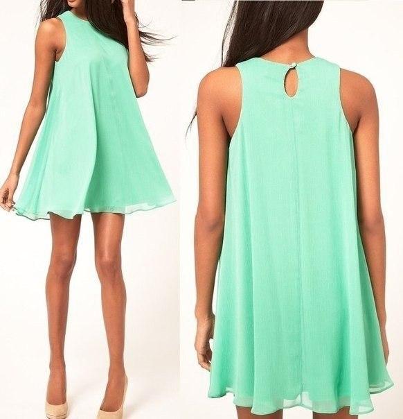 Выкройка платья на лето