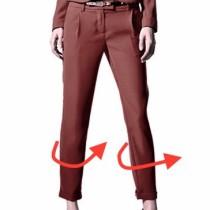 исправление дефектов брюк