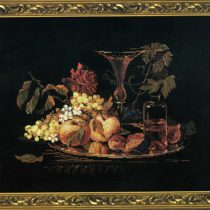 Схема вышивки натюрморт с фруктами