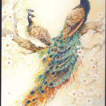 схема вышивки персидский сад